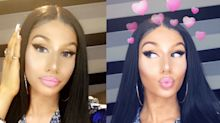 Teen who looks just like Nicki Minaj in controversial selfies goes viral