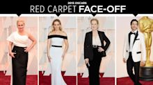 Oscars Red Carpet Face-off: Black and White on Meryl Streep, Reese Witherspoon & More
