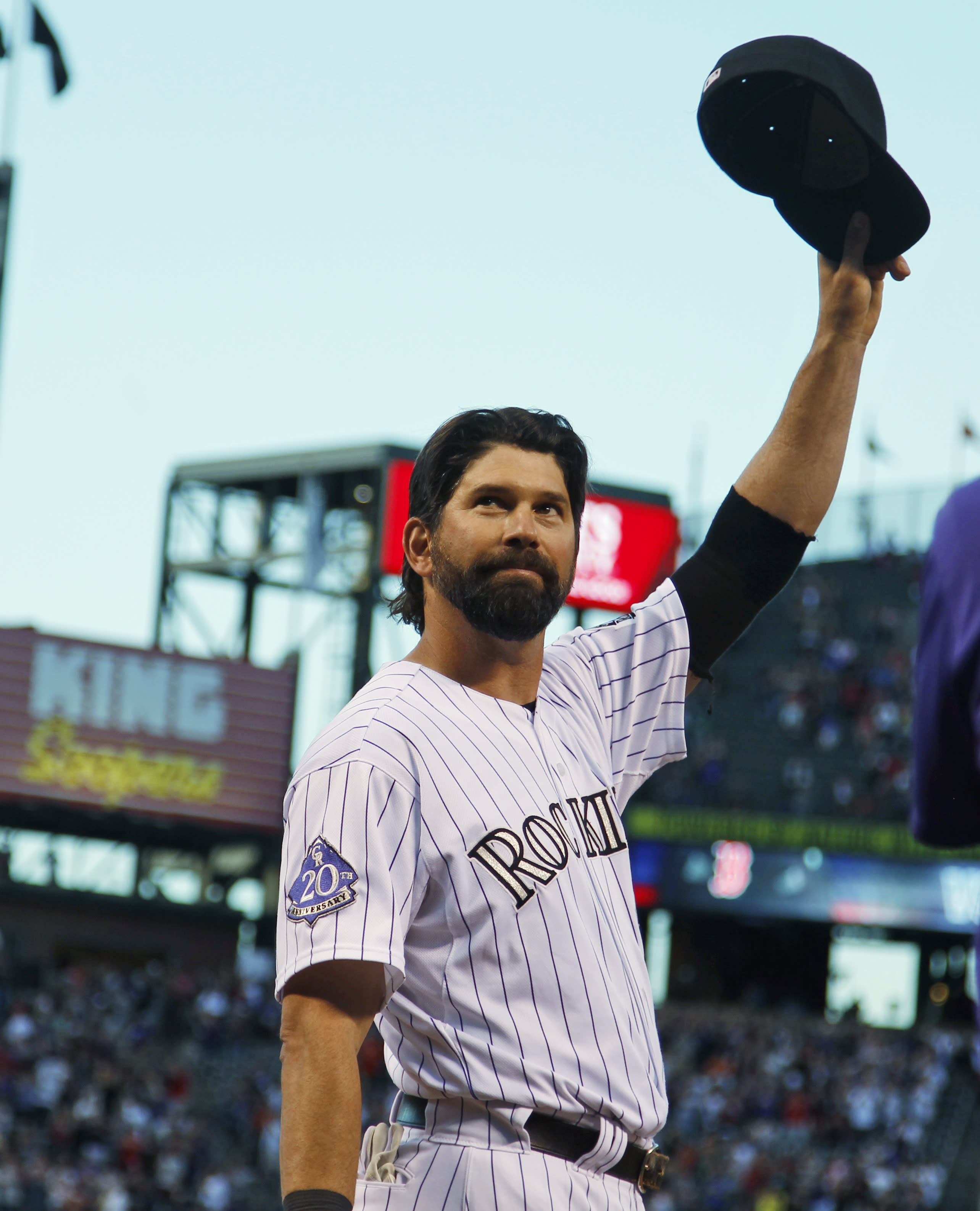 Helton homers in coors finale bosox top rockies for Todd helton