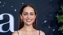 Emilia Clarke thanks paramedics for 'making her laugh' following 'traumatic' brain aneurysm