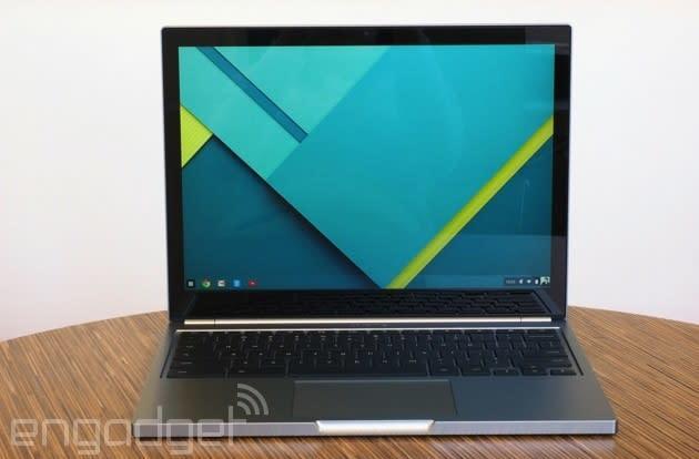 Google's £799 Chromebook Pixel 2 arrives in the UK on April 21st