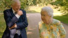 Queen makes joke about Donald Trump to Sir David Attenborough