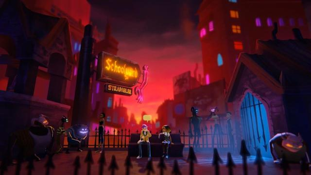 Flirt with Satan, but not your best friend, in emo adventure 'Afterparty'