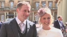 'All I do is ride a bike': Olympian Laura Kenny tells of 'huge honour' as she receives CBE alongside her husband Jason