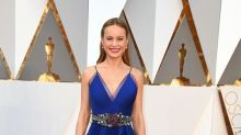 Brie Larson Hugs Every Sexual Assault Survivor From Lady Gaga's Powerful Oscars Performance