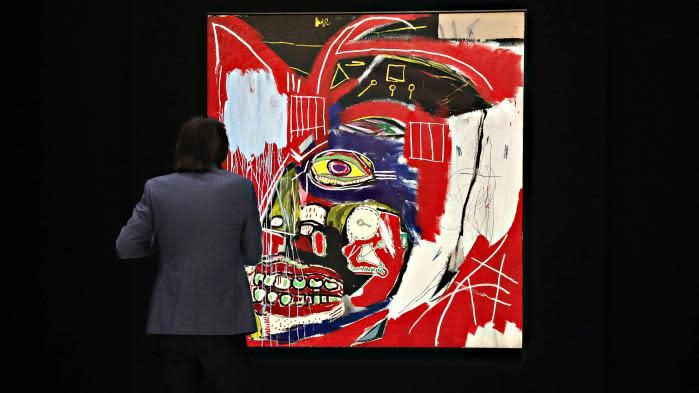 93 millions de dollars pour un tableau de Basquiat à New York, 100 fois plus qu'il y a vingt ans