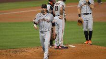 Giants put Jeff Samardzija on injured list after bad start vs. Dodgers