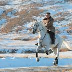 North Korea's Kim vows to fight U.S. sanctions, visit sacred Mount Paektu