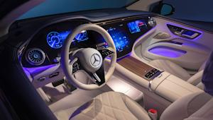 Mercedes EQS first look: The pinnacle of EV luxury