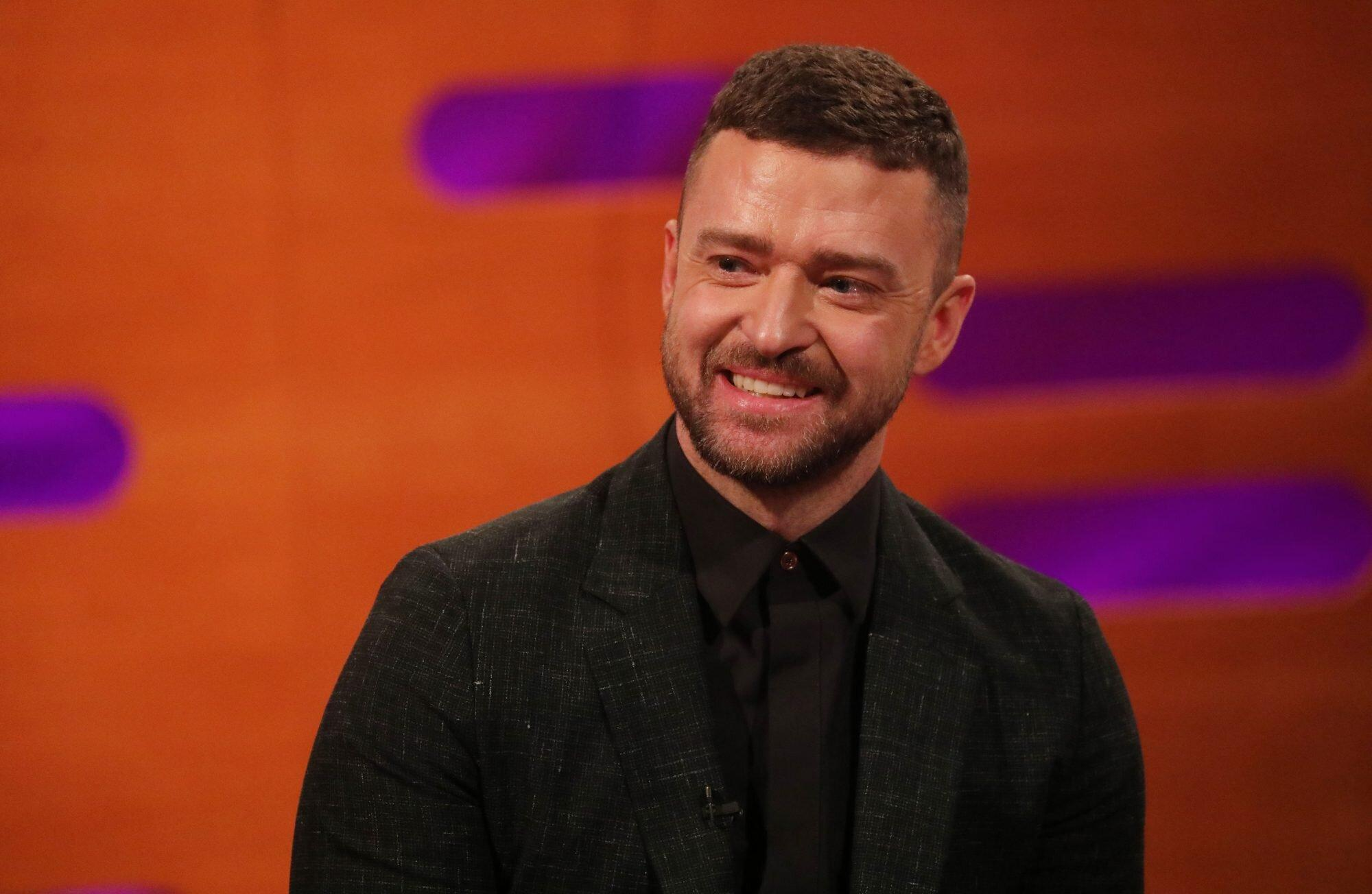 Justin Timberlake Shared His First Photo of Son Phineas to Celebrate Father's Day