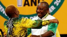 South Africa's Ramaphosa wins election as ANC president