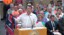 Man demands to hang up Confederate flag in protest over mayor's LGBTQ Pride tribute