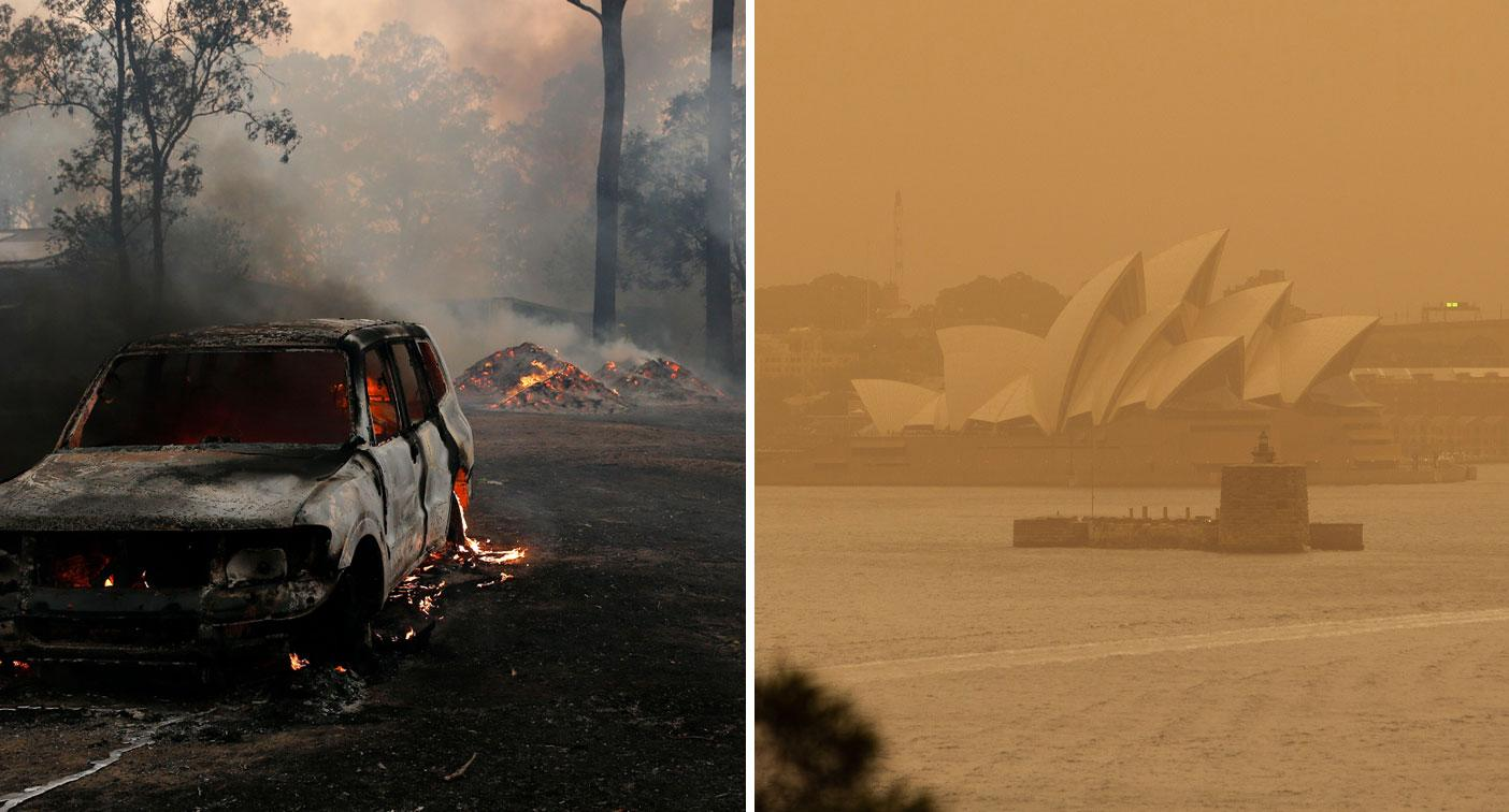 NSW bushfires: What happened today and what's coming next