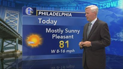 AccuWeather: Lots of Sun, Low Humidity Today