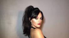 ¡Ultratransparente! El jugadísimo look de Oriana Sabatini para un show