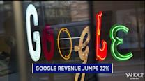 Google jumps; Shire says 'I do' to AbbVie; FedEx drug probe