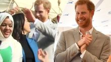 Prince Harry fixing Meghan's hair for her is melting hearts everywhere
