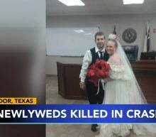 Texas couple leaving courthouse after getting married, killed in crash