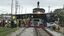 Deadly Mississippi train-bus collision