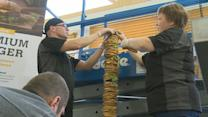 Finland Claims World's Tallest Burger