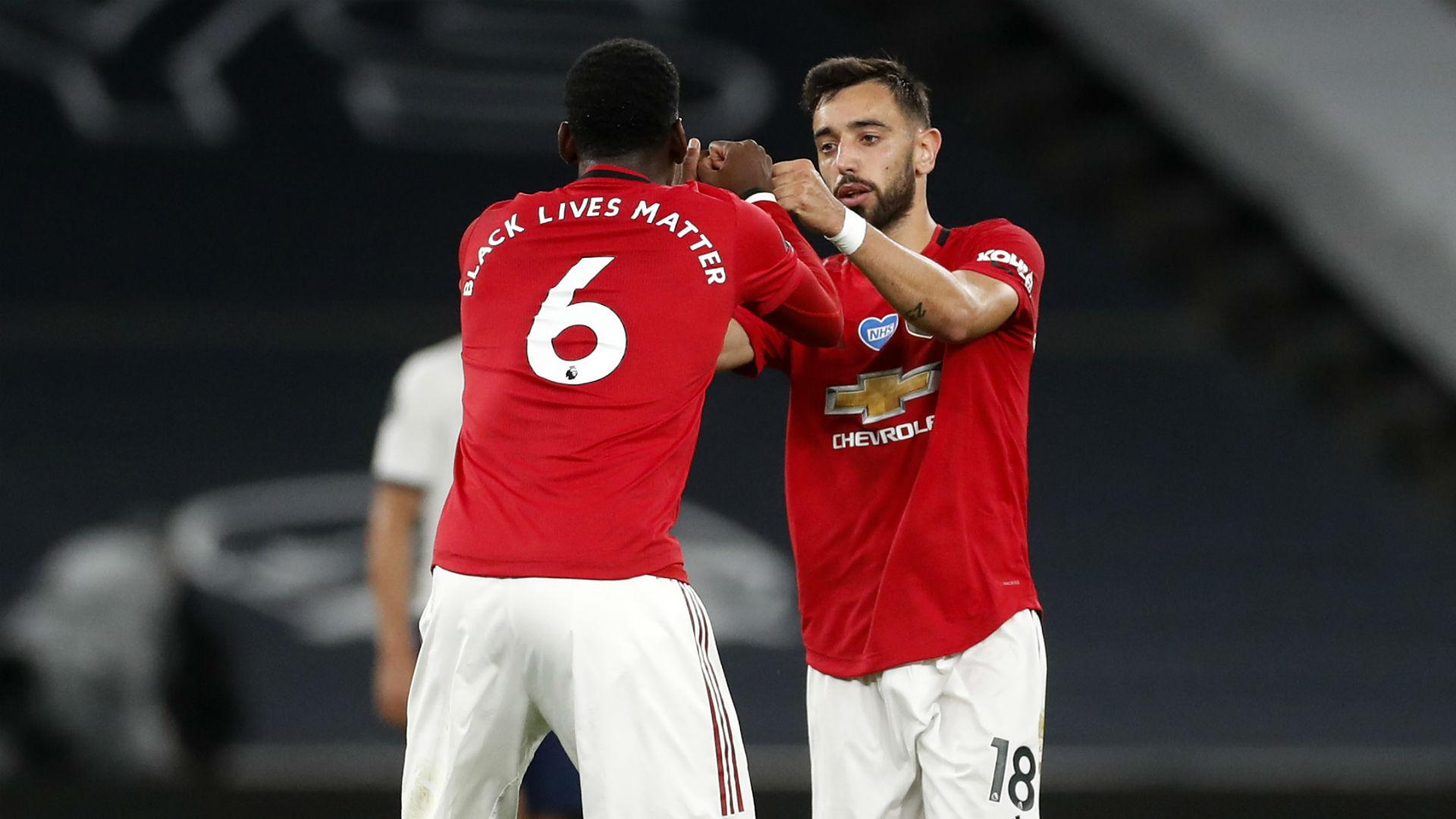 Bruno Fernandes finds 'good connection' with Pogba