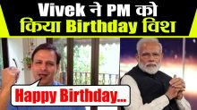 Vivek Oberoi recites poem for PM NarendraModi on his Birthday