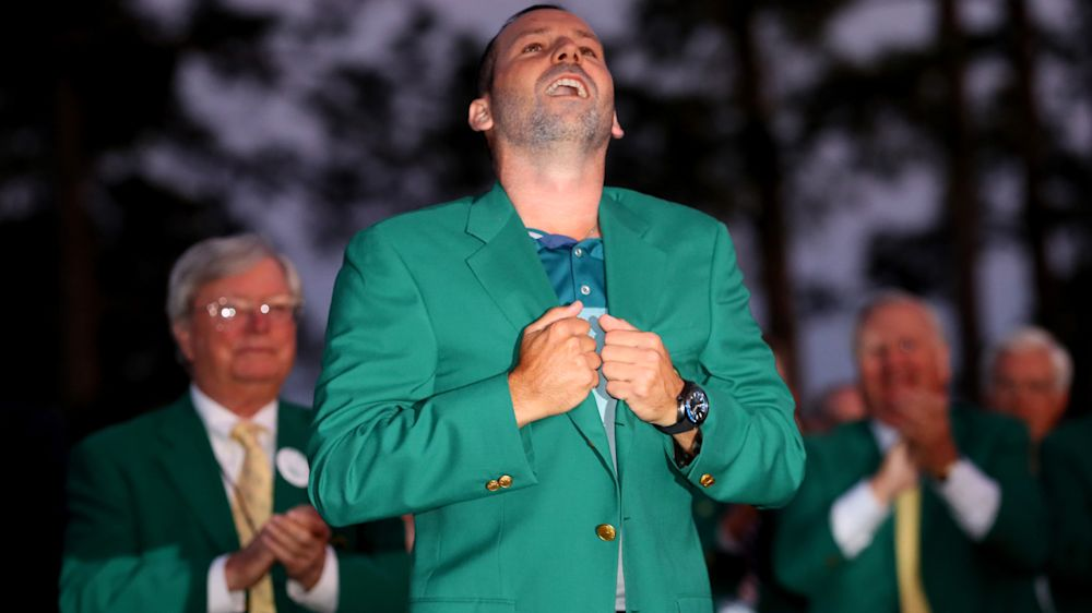 A deserved major: Sports world heaps praise on Sergio Garcia after belated Masters win