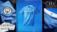 El Manchester City presentó la camiseta que usará la próxima temporada