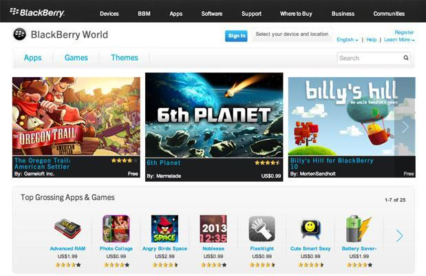 Blackberry App World store makes early switch to Blackberry World, but no music or video yet