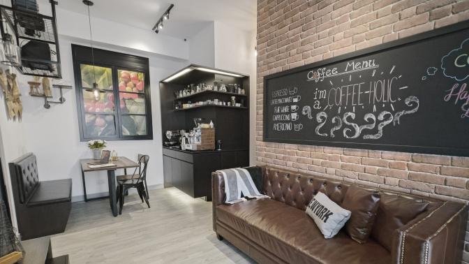 【設計變法】工業風咖啡空間 咖啡迷的夢想屋