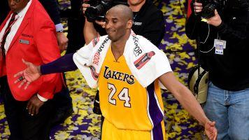 Kobe's farewell game towel sells for $33K