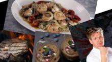 【名廚Gordon Ramsay教煮】煮出完美晚餐無難度!牛扒+大蝦意粉+朱古力慕絲
