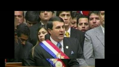 New Paraguay president sworn in