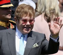 Elton John Gave An All-Star Performance At The Royal Wedding Luncheon