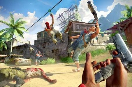 Far Cry 3 multiplayer screens show death by bullets, not malaria