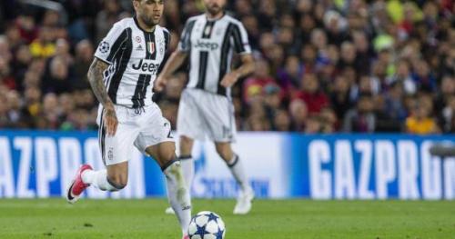 Foot - C1 - Juve - Juventus Turin : Dani Alves ailier droit contre Monaco, Juan Cuadrado sur le banc