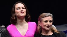 Carrie Fisher's 'Star Wars'Advice to Daisy Ridley: Fight Against the Slave Outfit