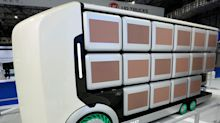 Future delivery: Japanese trucks designed with no cabin and interchangeable cargo holds