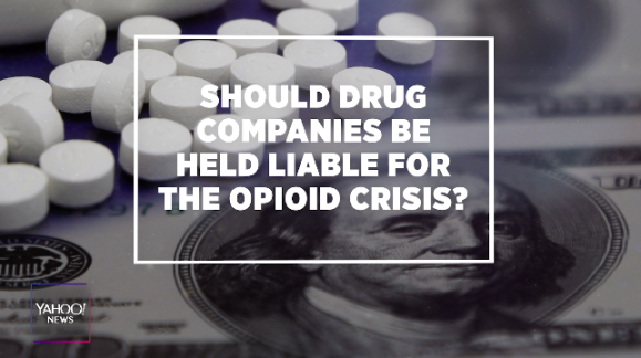 Will fining drugmakers curb the opioid crisis?