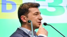 Ukraine's Zelensky urges Russia sanctions after citizenship rule change