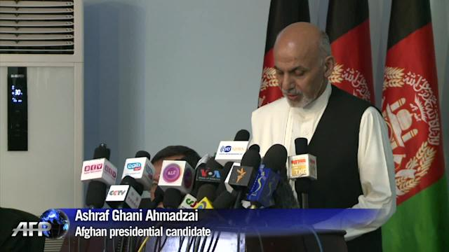 Ghani confident final results of Afghan poll in his favor