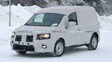 New Renault Kangoo spied with more camo than before