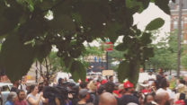 Protesters Gather at Cincinnati Court After Officer Indicted for Sam DuBose's Death