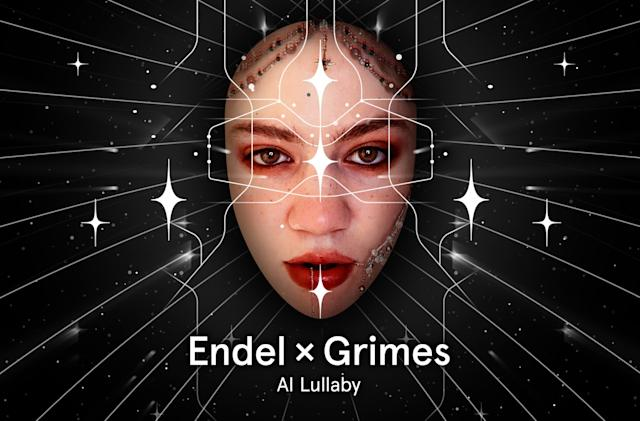 Grimes and Endel made an AI-powered lullaby