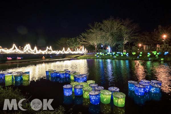 每年「鹽水蜂炮」及「月津港燈節」活動,吸引許多遊客前來。