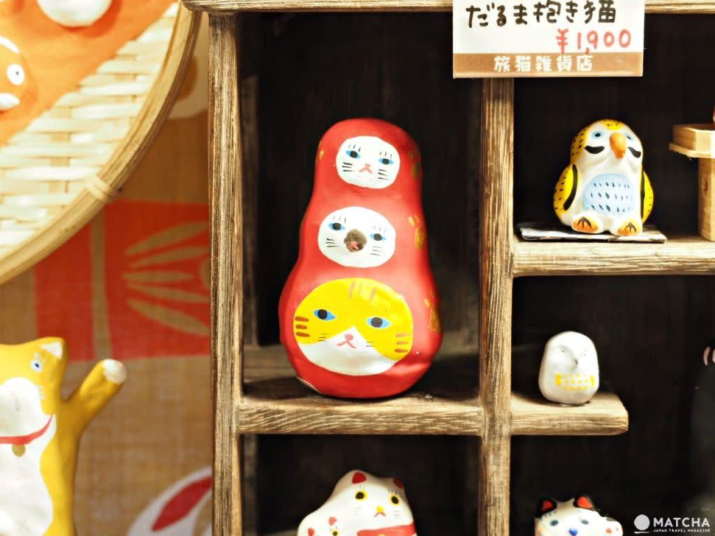 旅貓雜貨店 三貓不倒翁