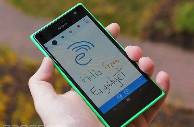 Skype for Windows Phone lets you share drawings with friends