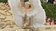 Katy Perry wore actual angel wings to the Met Gala