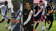 Vasco anuncia renovações de cinco jogadores revelados em São Januário