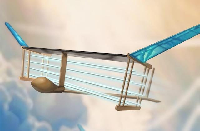 Ion-powered aircraft flies with no moving parts